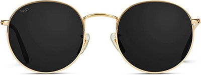 WearMe Pro Reflective Round Sunglasses