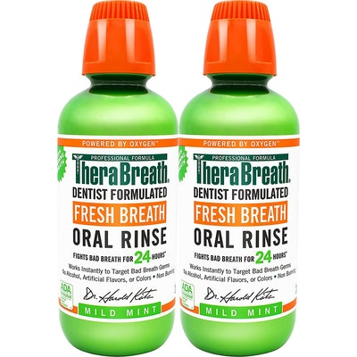 TheraBreath Dentist Formulated Oral Rinse (2-Pack)