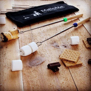 MalloMe Marshmallow Roasting Sticks (8-Pack)