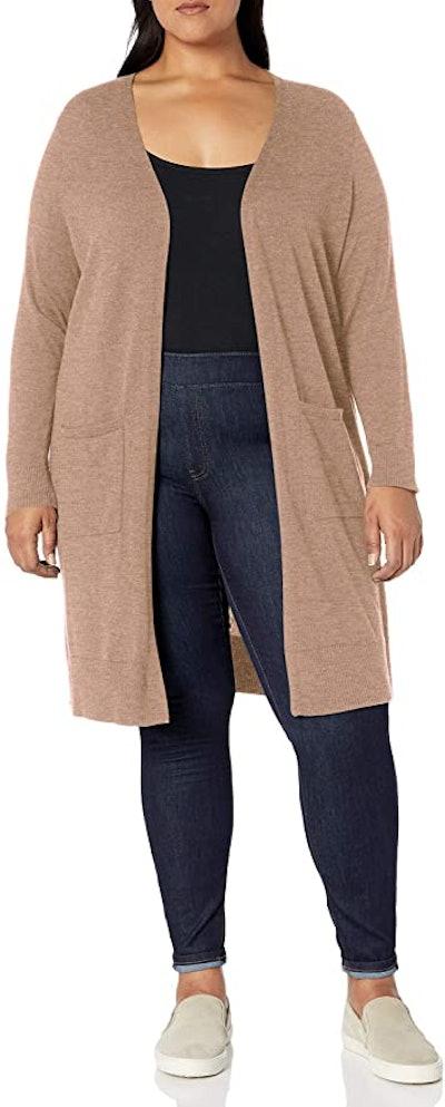 Amazon Essentials Women's Plus Size Lightweight Long Cardigan