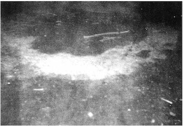 burn marks in ground delphos ufo