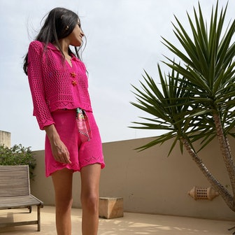 Coralia Knit Set