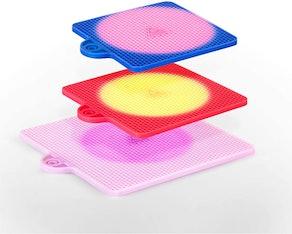 SILICONBEE Heat-Sensitive Trivets (3-Pack)