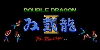 double dragon 2 title screen