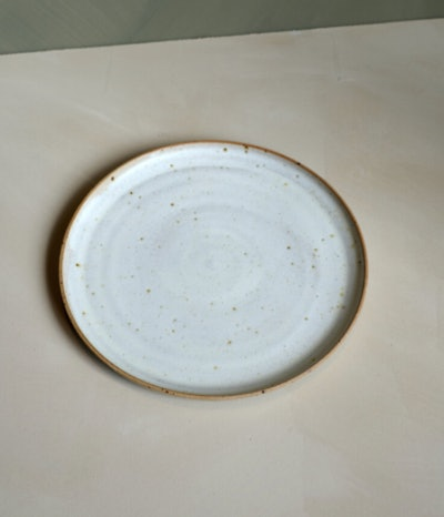 Speckle Stoneware Dinner plate by Lucia Ocejo