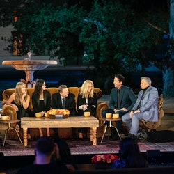 The 'Friends' reunion delivered many fun filming secrets. Photo via HBO Max