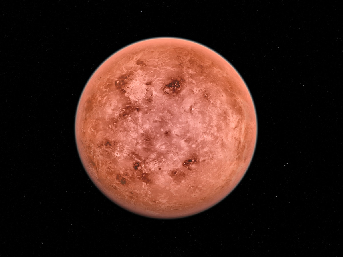 Venus during the month of June 2021.