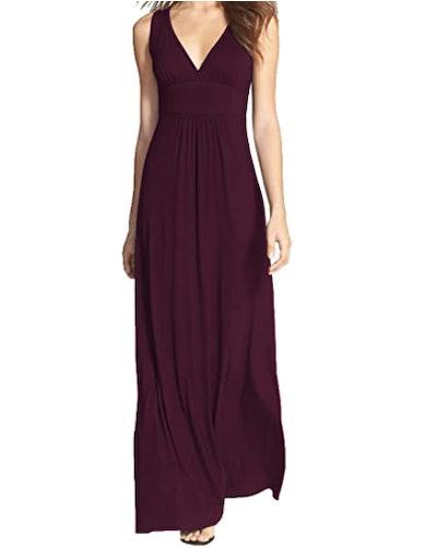 WOOSEA Sleeveless Maxi Dress