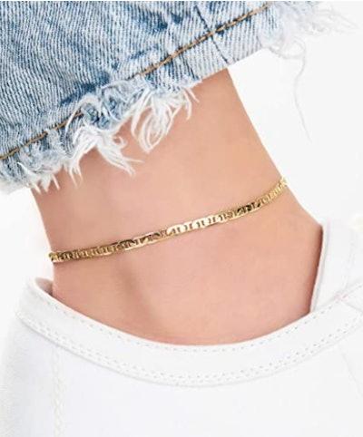 Barzel 18K Gold Anklet