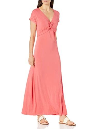 Amazon Essentials Front Twist Maxi Dress