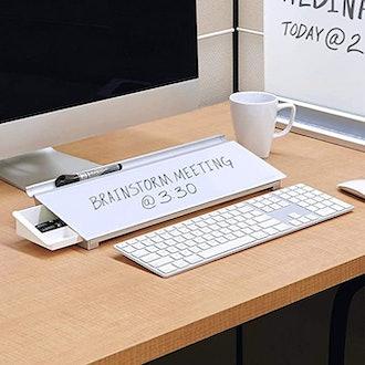 Quartet Glass Whiteboard Desktop