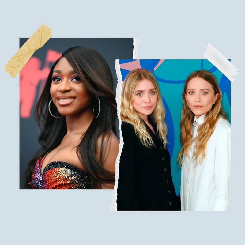 Normani, Mary-Kate Olsen, and Ashley Oslen.