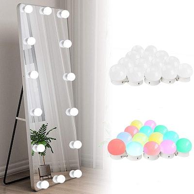 SICCOO Vanity Lights (14 Bulbs)