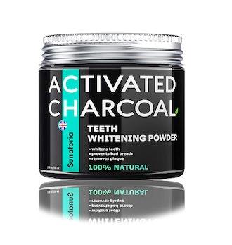 SUNATORIA Activated Charcoal Teeth Whitening Powder