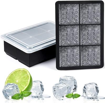 AiBast Ice Cube Trays (3 Pack)