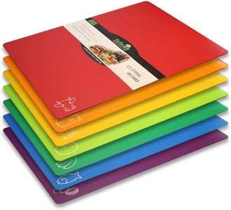TuTuBo Color-Coded Cutting Mats (7-Pack)