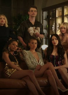 The cast of the new Gossip Girl.