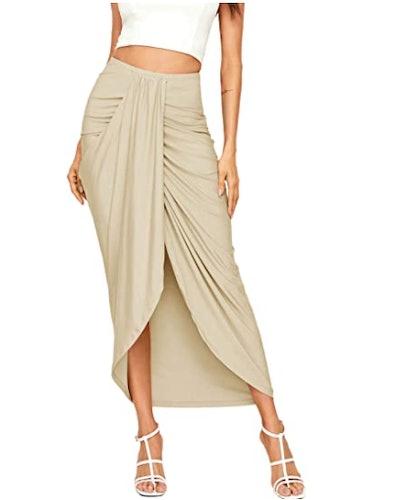 SheIn Asymmetrical Maxi Skirt