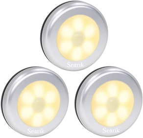Searik Motion-Sensor Lights (3-Pack)
