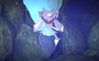 new pokemon snap diancie legendary