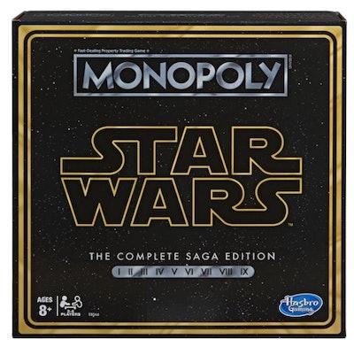 Monopoly: Star Wars Complete Saga Edition Board Game