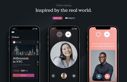 Teleport dating app puts video first.