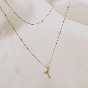 Martini Layered Necklace