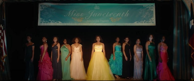 'Miss Juneteenth' is a movie that debuted in 2020.