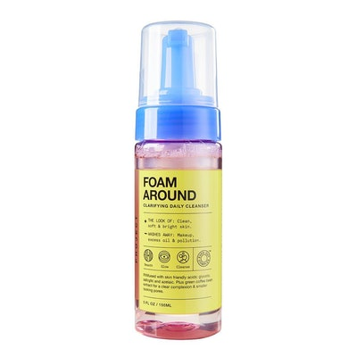 INNBeauty Project Foam Around Clarifying Daily Cleanser Infused with Glycolic Acid