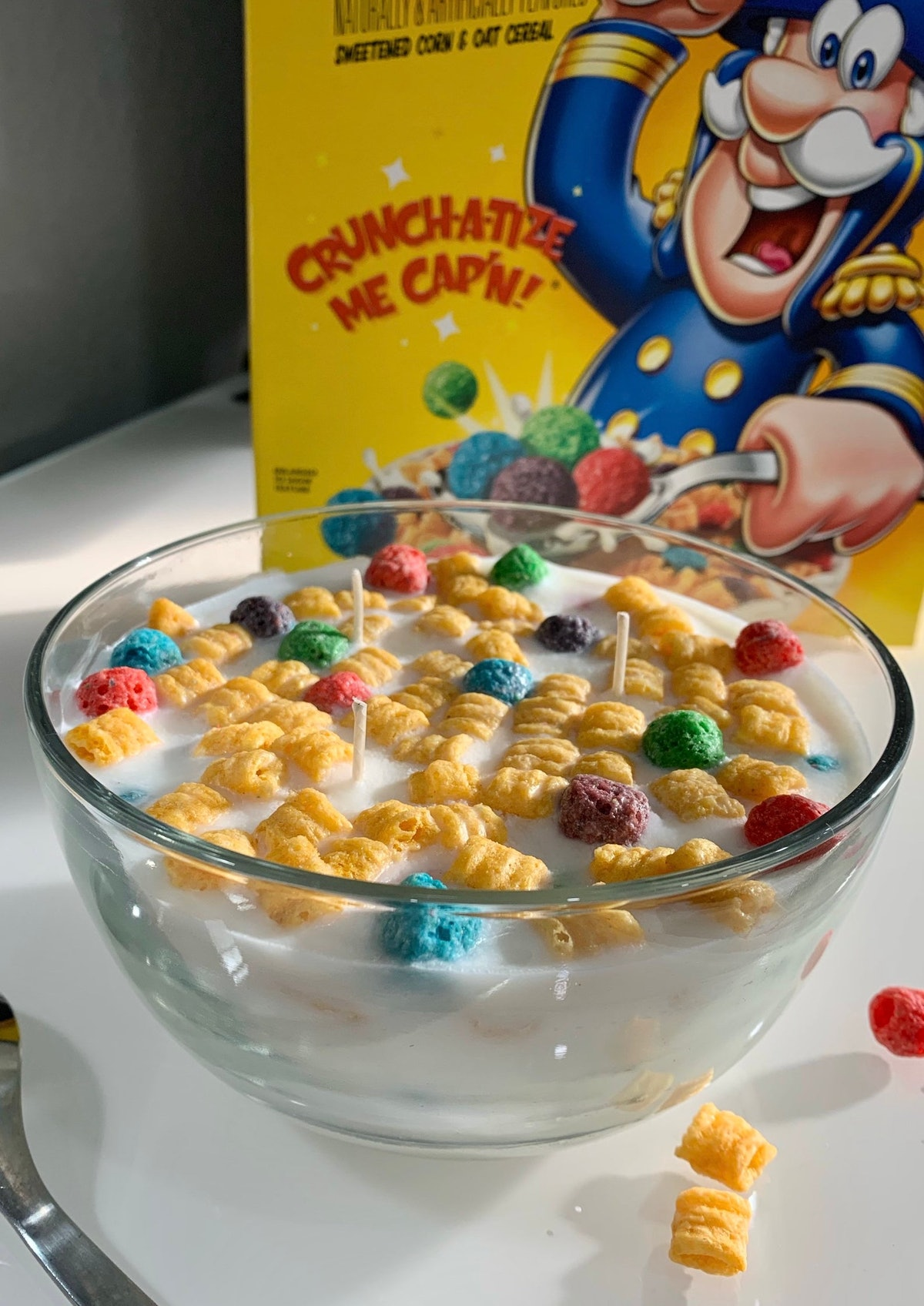 BVG Saturday Morning Cartoons Candle Cap'n Crunch Cereal Edition