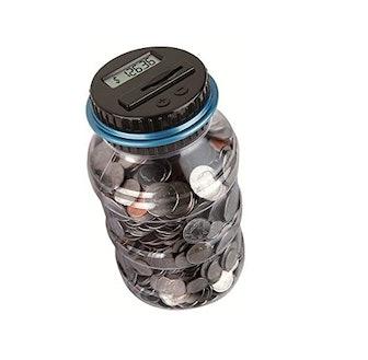 Winnsty Coin Piggy Bank Saving Jar