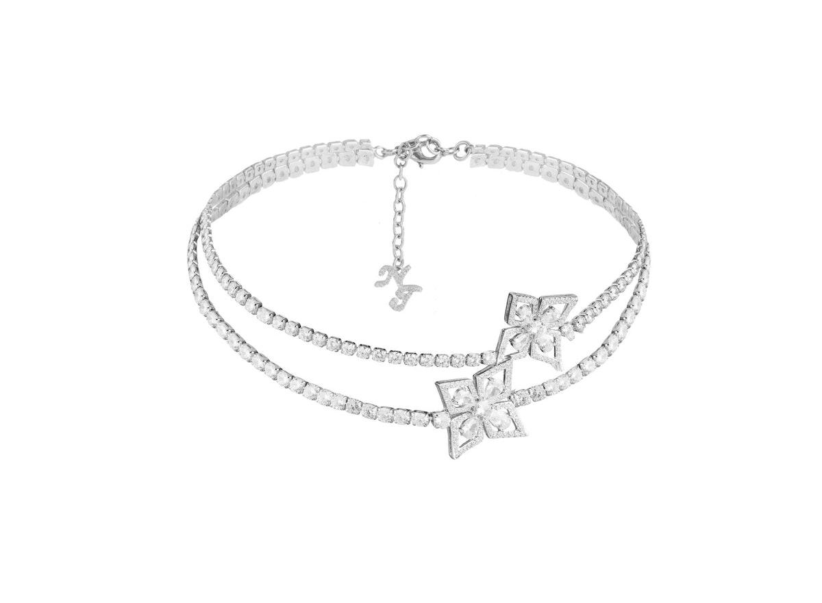 Jolie Flower Necklace