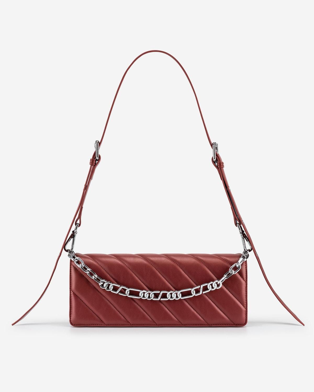 Sophie Crossbody Bag in Wine Red