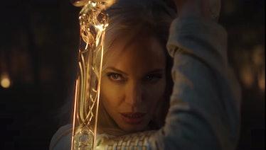 Angelina Jolie as Thena in Marvel's 'Eternals'