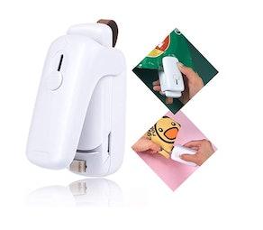 JJLVTEK Mini Portable Handheld Heat Sealer
