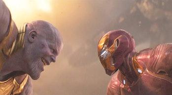 Thanos old testament bible theory endgame i am inevitable
