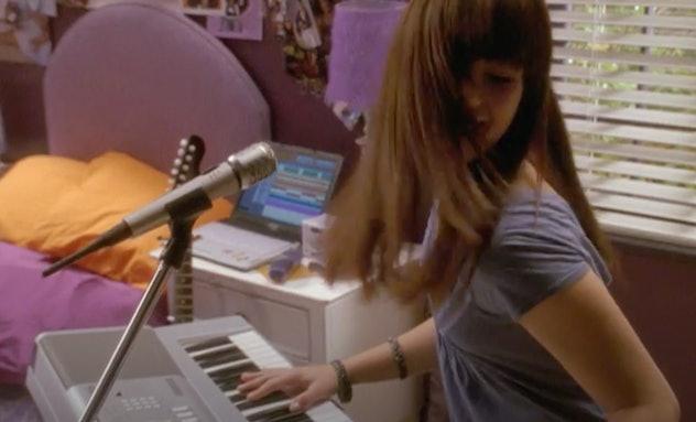 Demi Lovato stars in the Disney Channel original film, 'Camp Rock.'