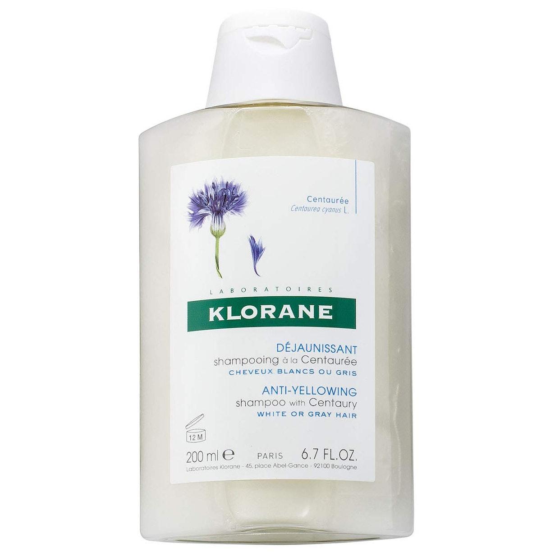 Klorane Anti -Yellowing Shampoo with Centaury