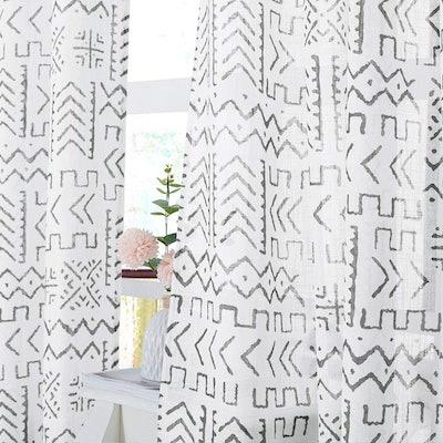 KGORGE Semi-Sheer Linen Curtains
