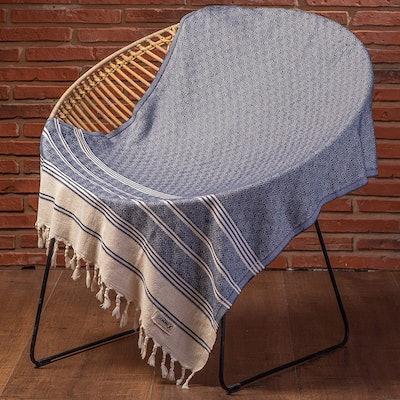 DEMMEX Diamond Weave Turkish Towel