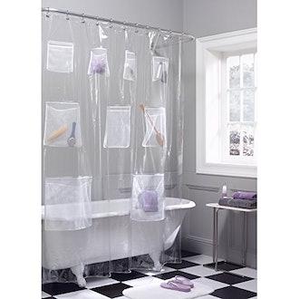 Maytex PEVA Shower Curtain