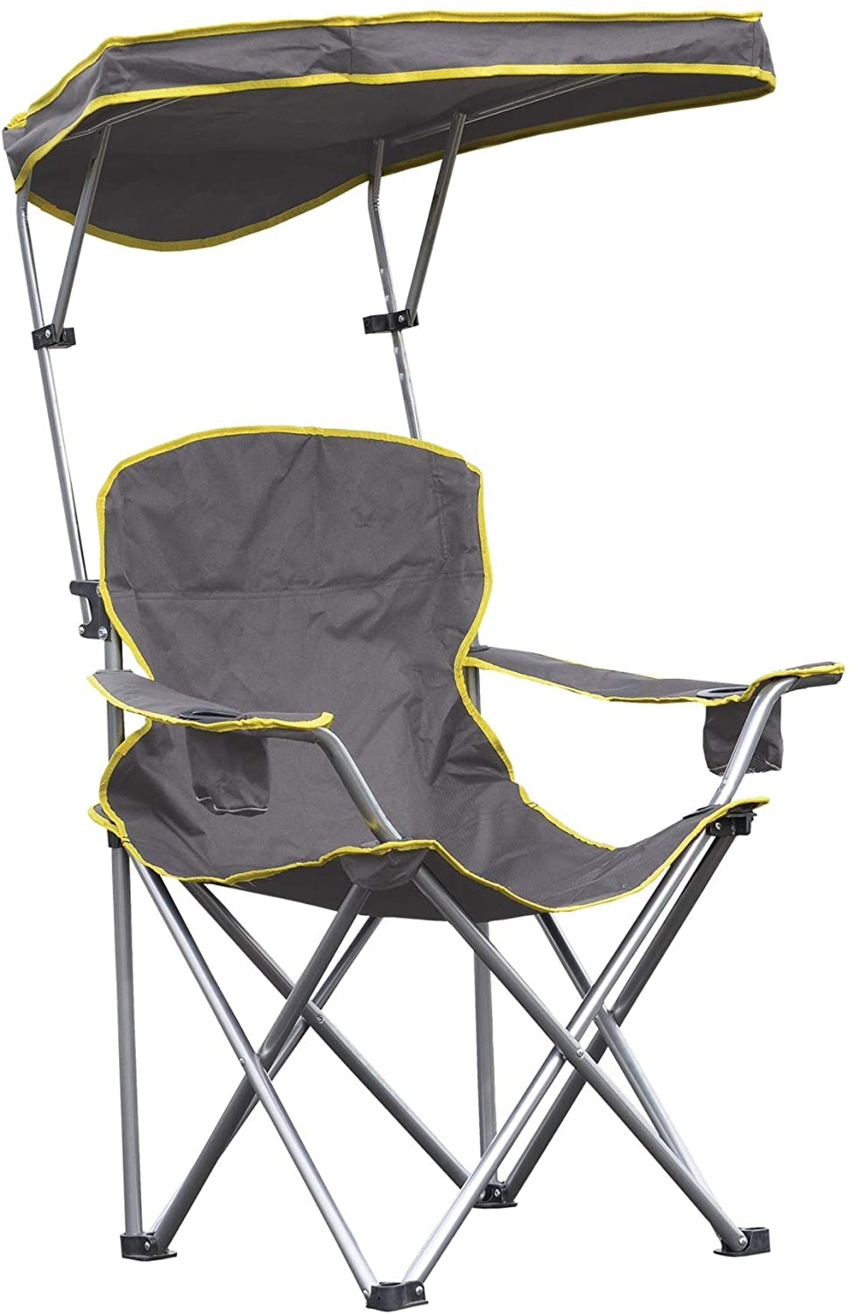 Quik Shade Extra Wide Camp Chair With Tilt Canopy