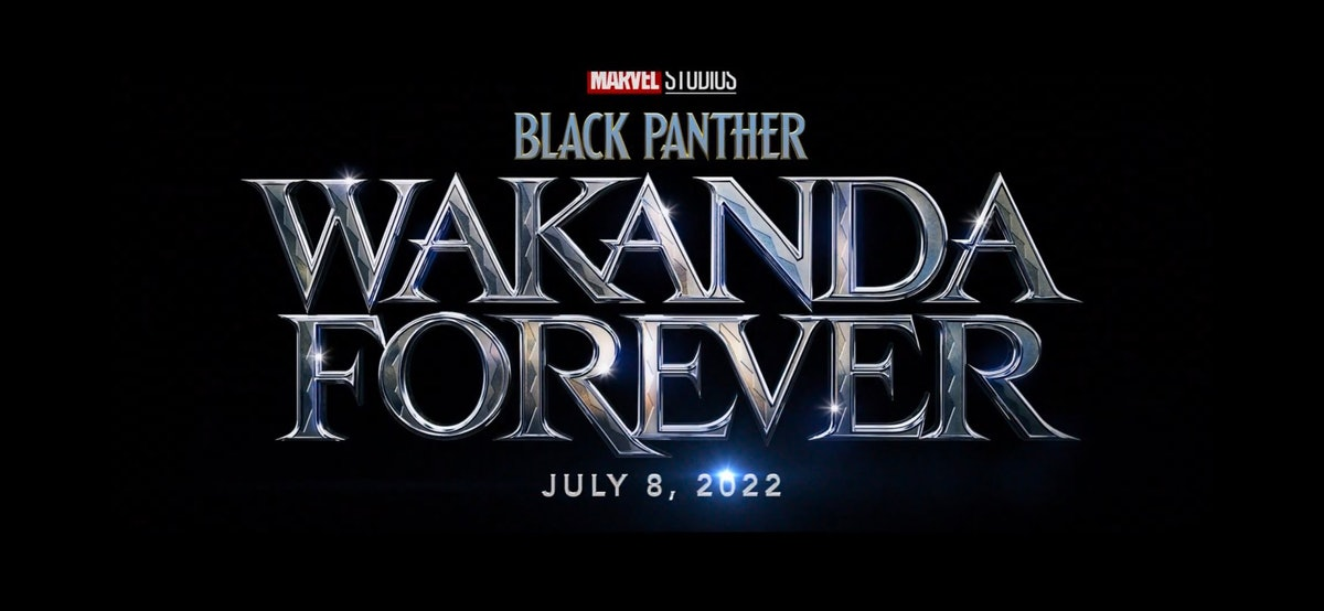 The official 'Black Panther: Wakanda Forever' logo