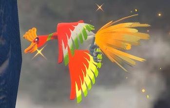 new pokemon snap ho-oh legendary