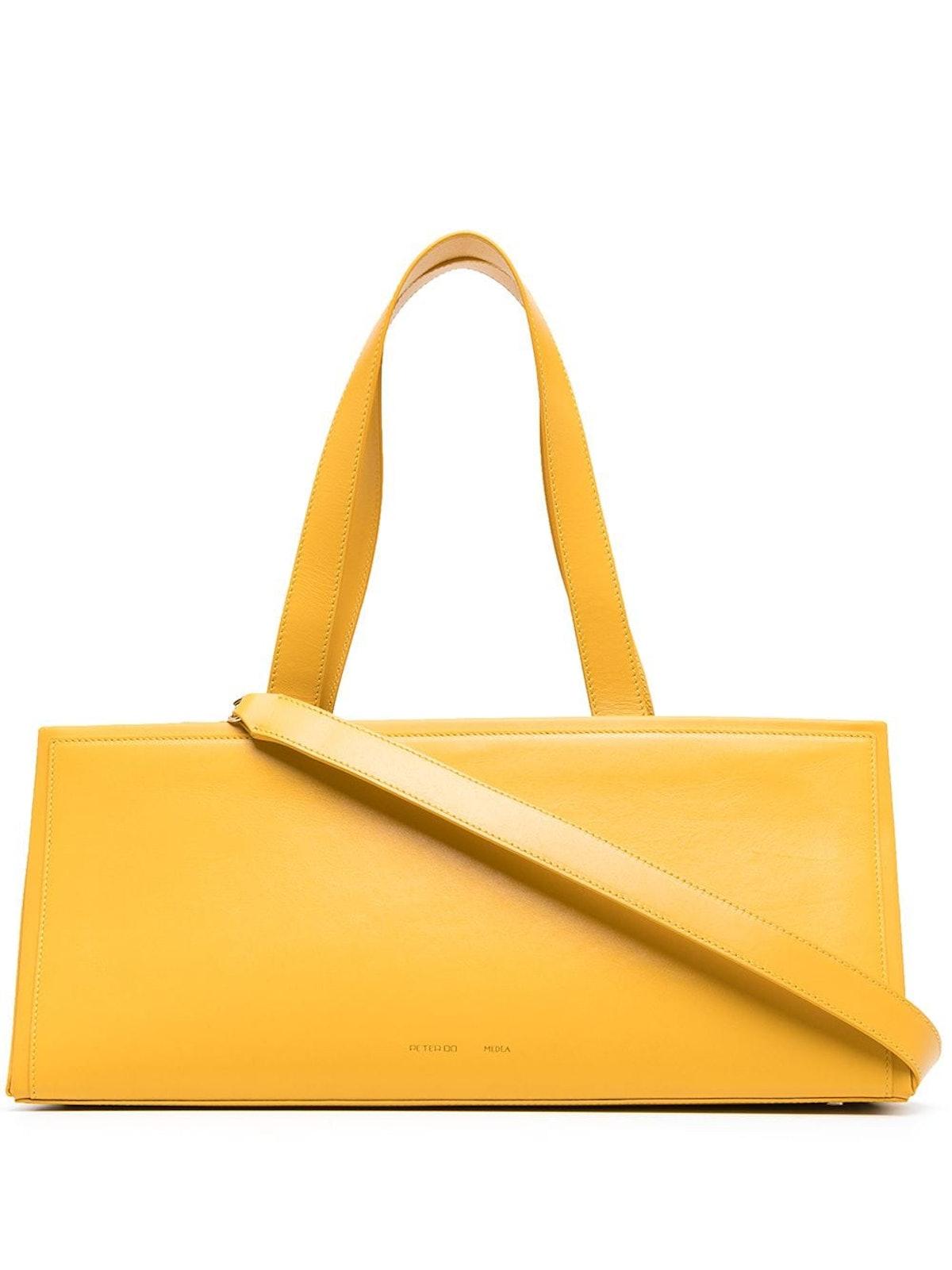 Triangle-Shaped Shoulder Bag