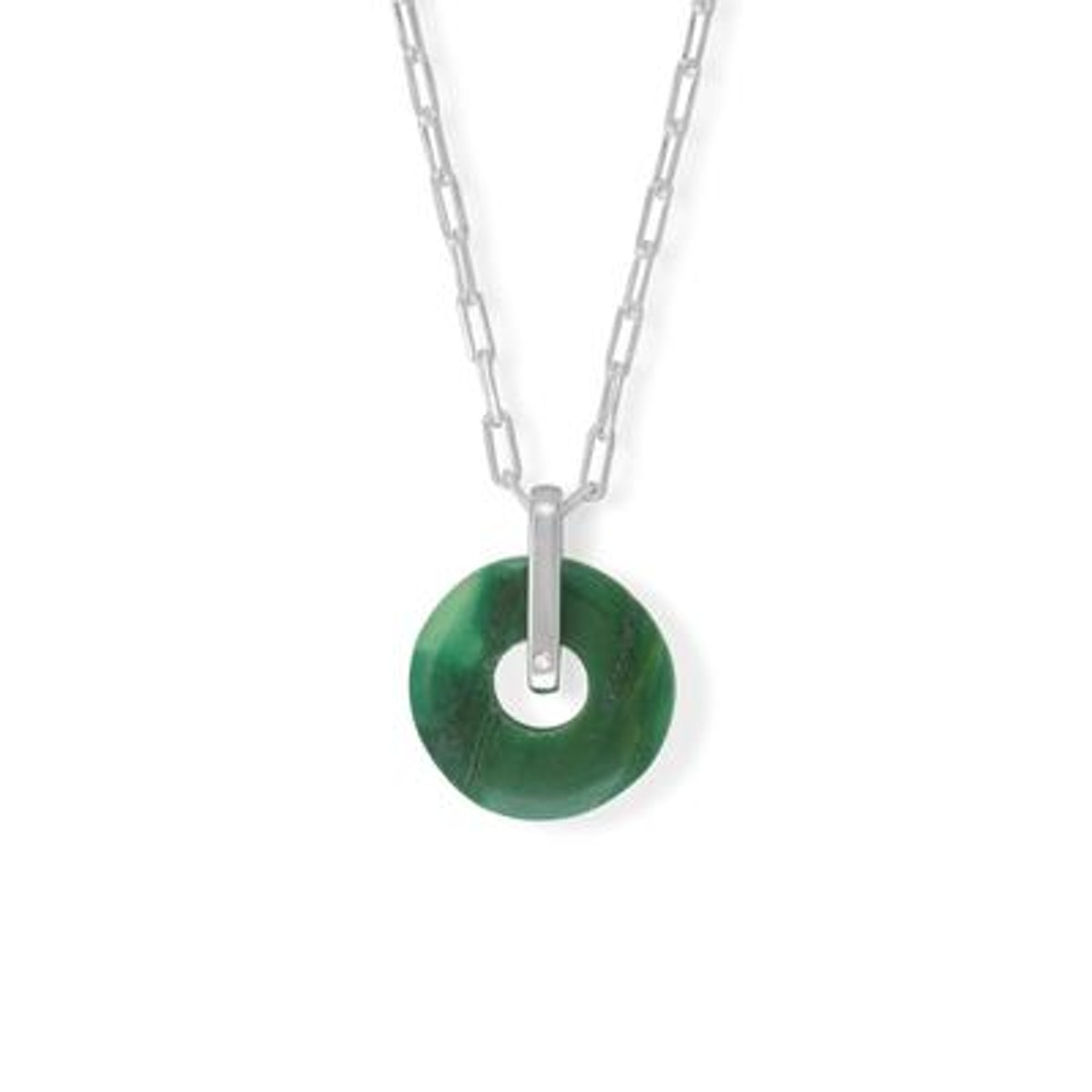 Assurance Agate Pendant Necklace