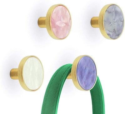 Mf Mitford Colorful Wall Hooks (Pack of 4)