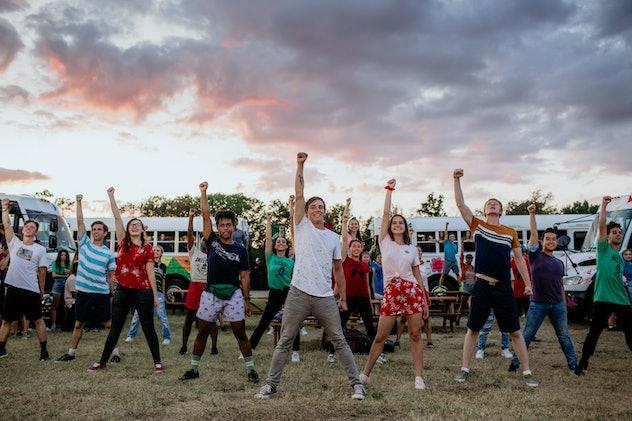 'A Week Away' is a movie musical set at a church camp.