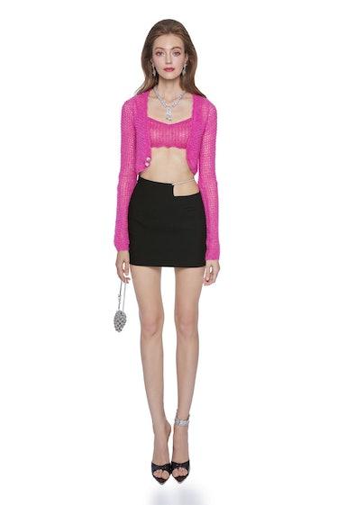 Hot Pink Miranda Cardigan Set