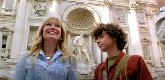 Hilary Duff stars in the 2003 film, 'The Lizzie McGuire Movie.'